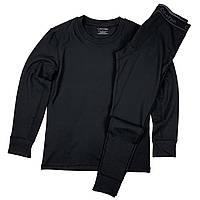 Зимнее термобелье Calvin Klein высокого качества, цвет черный. Выдерживает до -20
