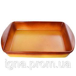 "Форма для запікання кераміка ""Ethno Organic"" 47*29*6.5 см 236771 (4шт)"