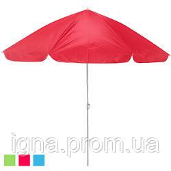 """Зонт пляжний d2.5м система """"Ромашка"""" MH-3313 (10шт)"""
