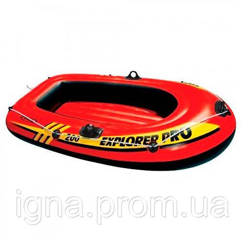 Лодка EXPLORER PRO 200 58356 (3шт) 196-102-33 см, на 1 взр+1 реб,