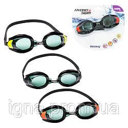 BW Очки для плавания 21005 (24шт) 3 цвета