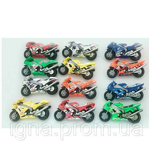 Мотоцикл ZP-2A (180шт) 11см, трансформер-робот, 12видов, в кор-ке,20-17-4см