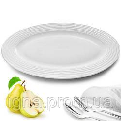 "Блюдо фарфор ""Тасьма"" 6шт/уп 12""(30.5 см) MC2613 (24шт)"