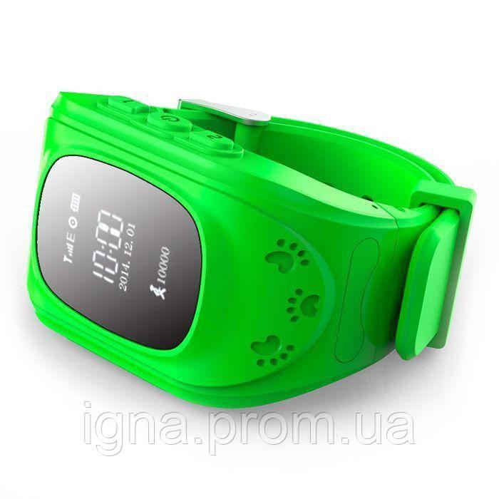 Smart Baby Watch Q50 с GPS трекером,Green
