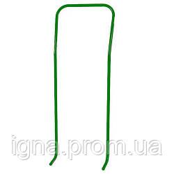 Ручка на санки зелений лак 7510