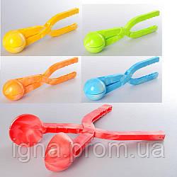 Снежколеп MS 0526-4 (96шт) 35см, 5цветов, в кульке, 35-10,5-7см
