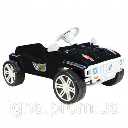 Машинка для катания ПЕДАЛЬНАЯ чёрная ОРИОН 792 (800x510x310 мм)