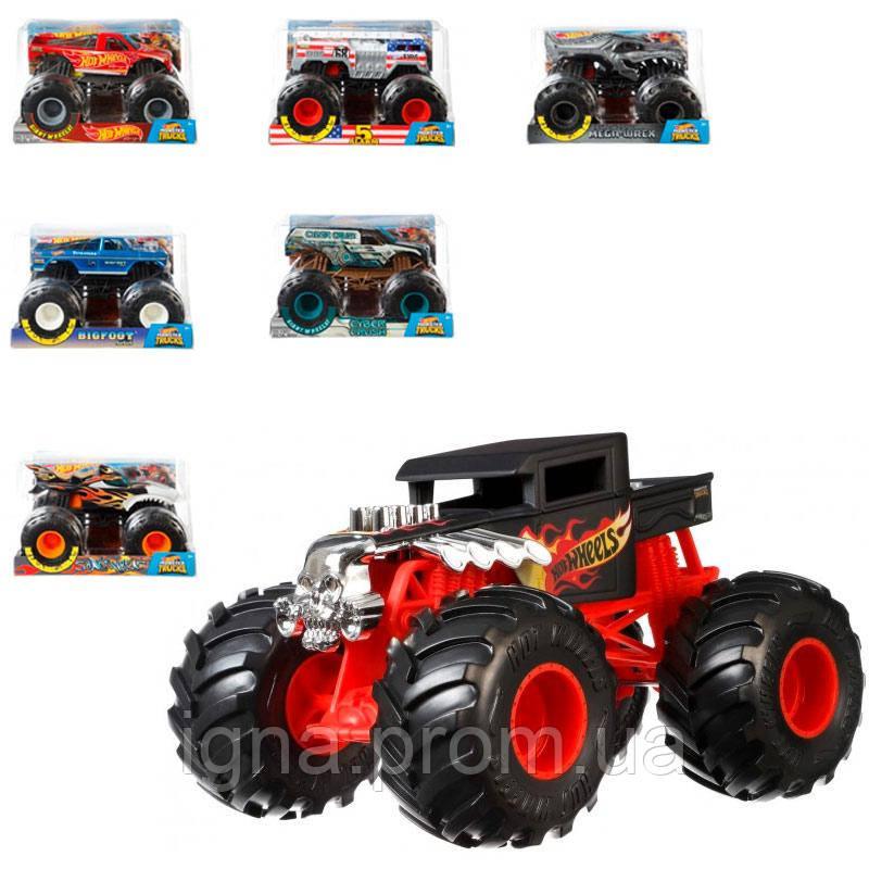 Суперзбільшена машинка-позашляховик 1:24 серії «Monster Trucks» Hot Wheels (в ас.)