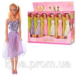 Кукла DEFA 8091B (96шт) 28см, в кор-ке, 12шт(3вида)в дисплее, 49,5-32-10,5см