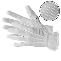 Рукавички для офіціантів білі, розміри Польща L,M,S
