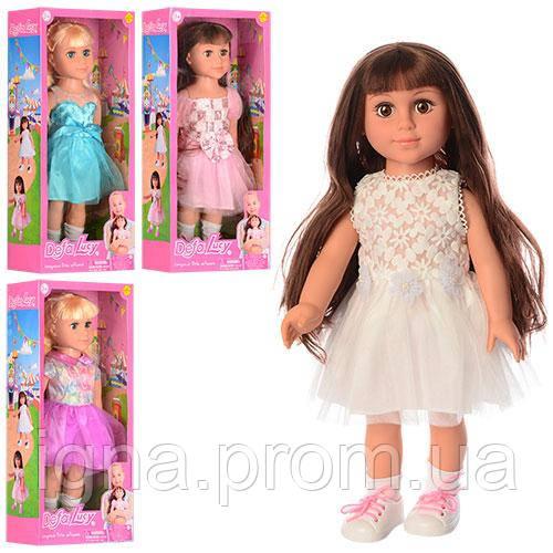 Кукла DEFA 5504 (6шт) 45см, 4 вида, в кор-ке, 22-49-11,5см
