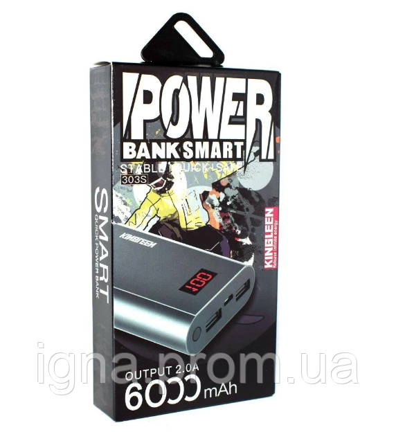 Power Bank PZX-303S 6000MA Gold