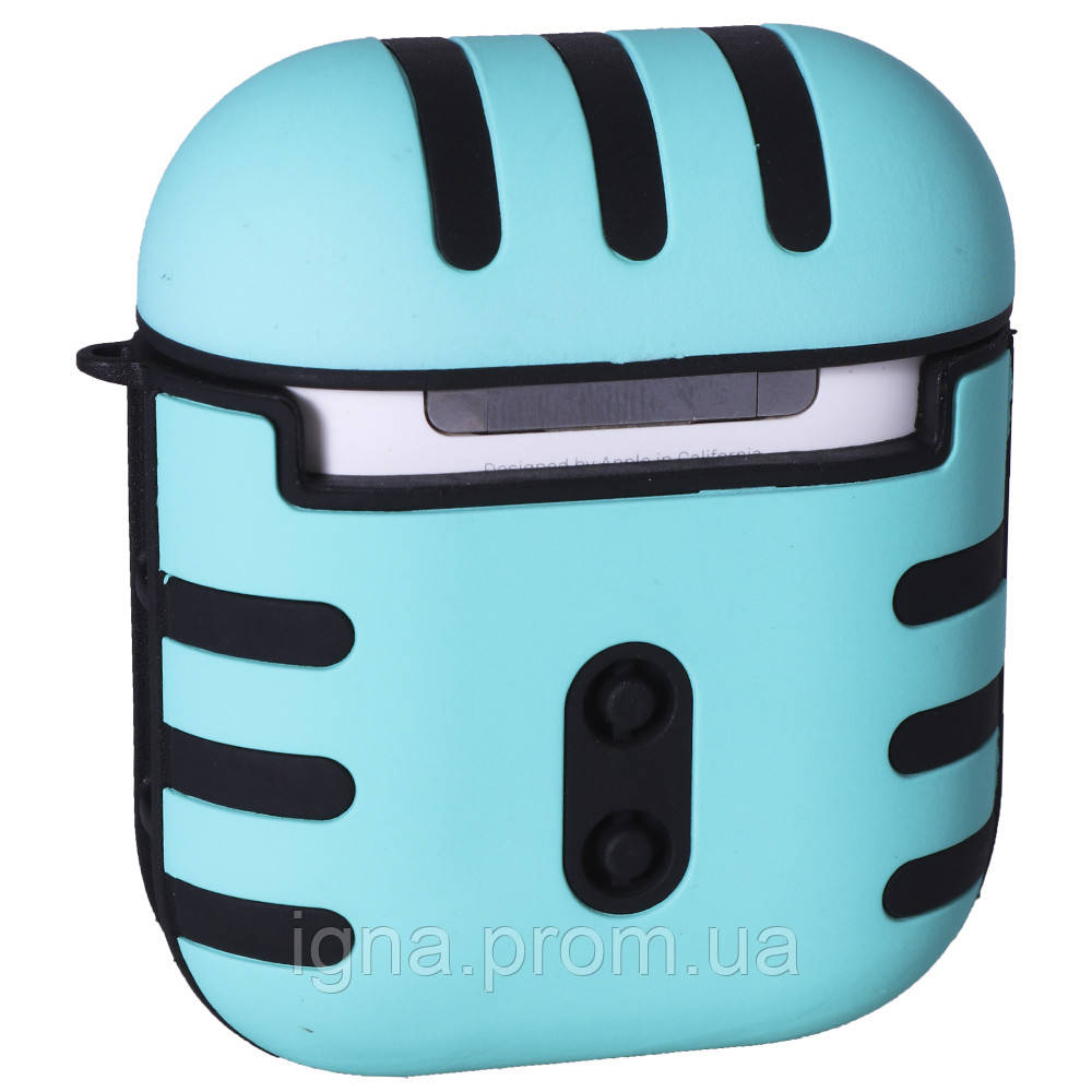 AirPods Case with carabine Tiger (Mint)