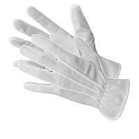 """Перчатки белые для официантов, размер """" М"""" Польша на женскую руку"""