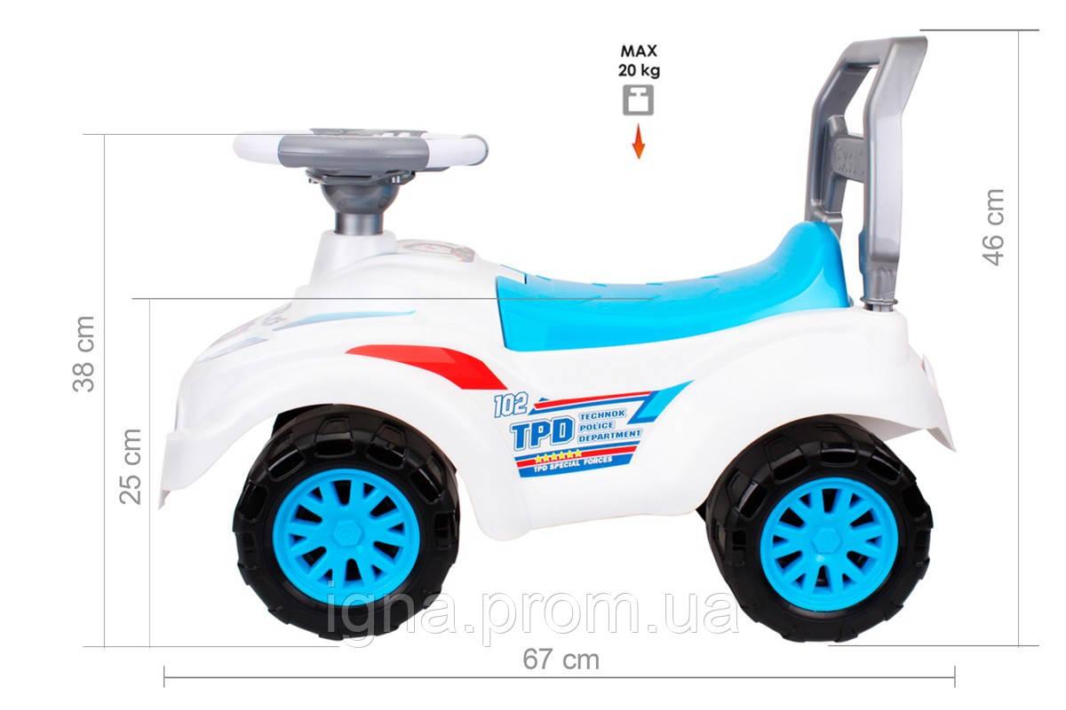 """Іграшка """"Автомобіль для прогулянок ТехноК, арт.7433"""