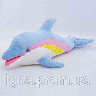 """М`яка іграшка """"Дельфін 2/3"""" 71 см Копиця 00306-4, 22x28x67"""