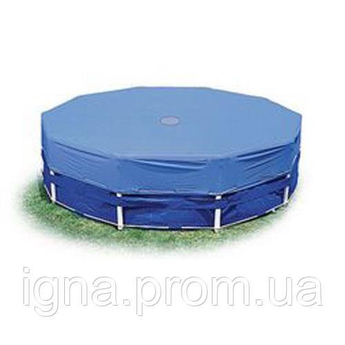 Тент 28032 (4шт)  для круглых каркасных бассейнов, диаметр 457см, в кор-ке, 36-30,5-12см