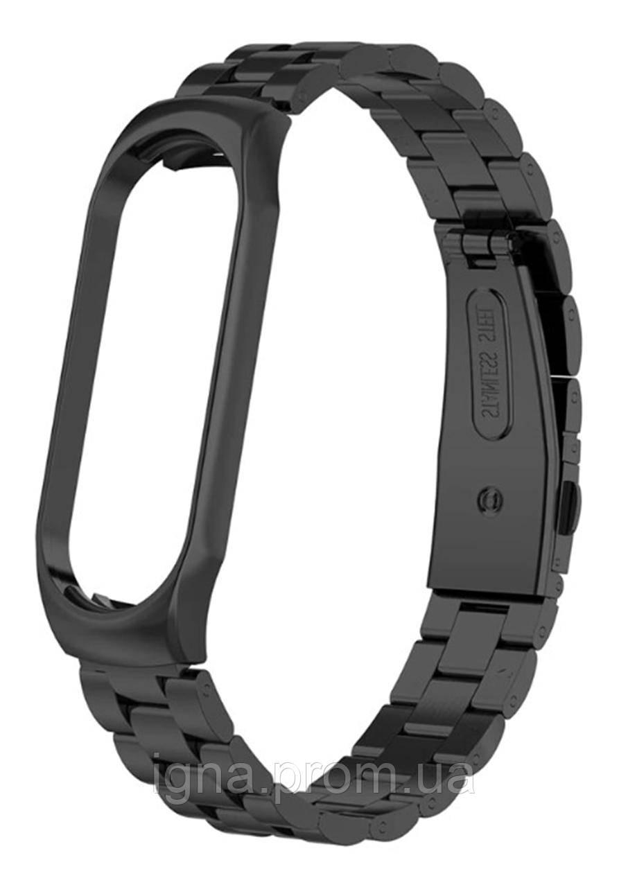 Браслет Bead Design Bracelet - Xiaomi Mi Band 3/4, Black