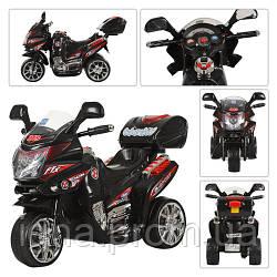 Мотоцикл M 0565 (1шт) мот12W,акк6V/4,5A,3км/ч,3-6лет,черн,в кор,59,5-37-35,5см