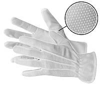 Рукавички білі для офіціантів, розміри L,M Польща