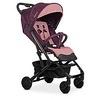 Візок дитячий ME 1070 SELECT Plum прогулянковий, книжка, колеса 4шт., чохол, синьо-рожевий.