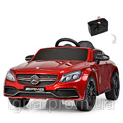 Машина M 4010EBLRS-3 (1шт) р/у2,4G,2мот45W,1аккум12V7AH, муз,св,шкір.сід,колEVA, MP3,USB,TF,краш.крас