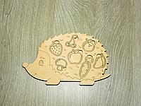 Развивающие деревянные игрушки для детей сортер «Еж» (2105)