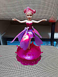 Літаюча лялька фея Frozen 2 види (зі светоми звуком), фото 5