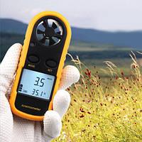 Цифровий анемометр Benetech GM-816 з вимірюванням температури