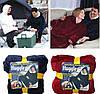 Плед Худи Huggle С Капюшоном Ultra Plush Blanket Hoodie Толстовка Плед С Капюшоном, фото 6