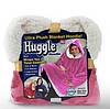 Плед Худи Huggle С Капюшоном Ultra Plush Blanket Hoodie Толстовка Плед С Капюшоном, фото 8
