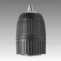 """Самозажимной патрон для дрели, шпиндель 3/8""""x24, диаметр 1-10 мм, Intertool"""