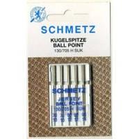 """Иглы Schmetz """"Jersey"""" ассорти для вязанных и трикотожных материалов"""