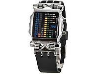 Годинники LED 2231 для чоловіків водонепроникні цифрові спортивні Сріблястий