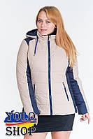 Женская куртка №15 (2-х цветная)