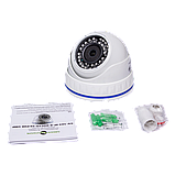 Антивандальная IP камера Green Vision GV-103-IP-X-DOC50-20 POE 5MP, фото 5