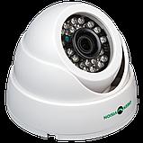 Гибридная купольная внутренняя камера GreenVision GV-051-GHD-G-DIA20-20, фото 2