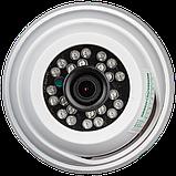 Гибридная купольная внутренняя камера GreenVision GV-051-GHD-G-DIA20-20, фото 3