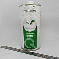 Очиститель для изделий из ПВХ (металлопластиковых окон) космофен GreenteQ 10% 1 литр