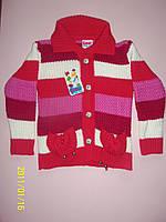 Теплый свитер  для девочки 3, 5 лет. Турция! Кофта, джемпер, свитер детские