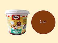 Цукрова паста-мастика 1 кг, коричнева