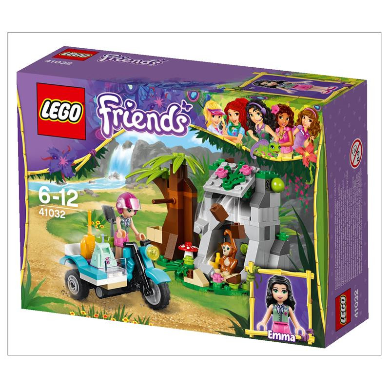 LEGO Friends -  Мотоцикл швидкої допомоги (41032) Мотоцикл скорой помощи. Первая помощь в джунглях на байке.