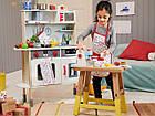 Детская деревянная кухня PlayTive Junior с часами Германия, фото 2