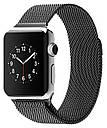 Ремінець BeWatch для Apple Watch міланська петля 38 мм / 40 мм Чорний (1050201), фото 2
