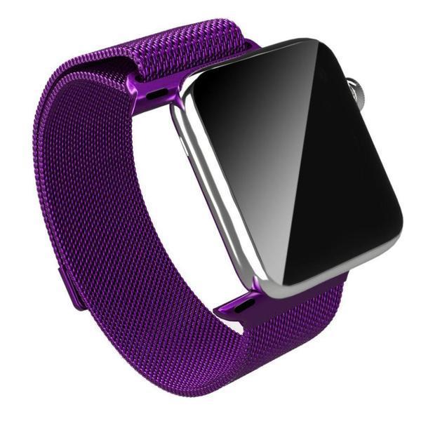 Ремінець BeWatch для Apple Watch міланська петля 38 мм / 40 мм Purple (1050211)