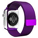 Ремінець BeWatch для Apple Watch міланська петля 38 мм / 40 мм Purple (1050211), фото 2