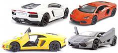 Детская коллекционная машинка Kinsmart 1:38 Lamborghini Aventador LP 700-4 инерц-я (KT5355W)