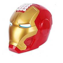 Копилка-сейф UKC Шлем железного человека Iron Man Разноцветный