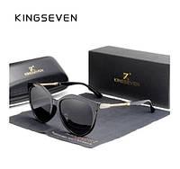 Женские солнцезащитные очки в классической оправе с градиентными линзами N7826 KINGSEVEN Италия