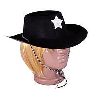 Шляпа Шерифа. пластик